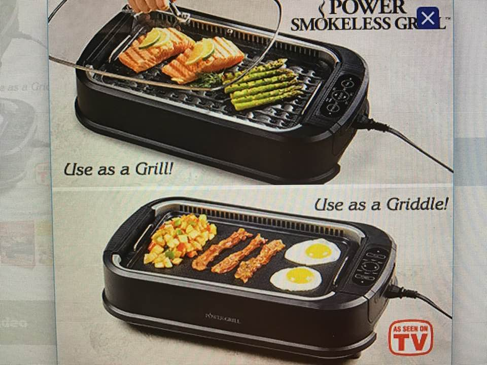 Today's Gadget Is The Power Grill/ Griddle!