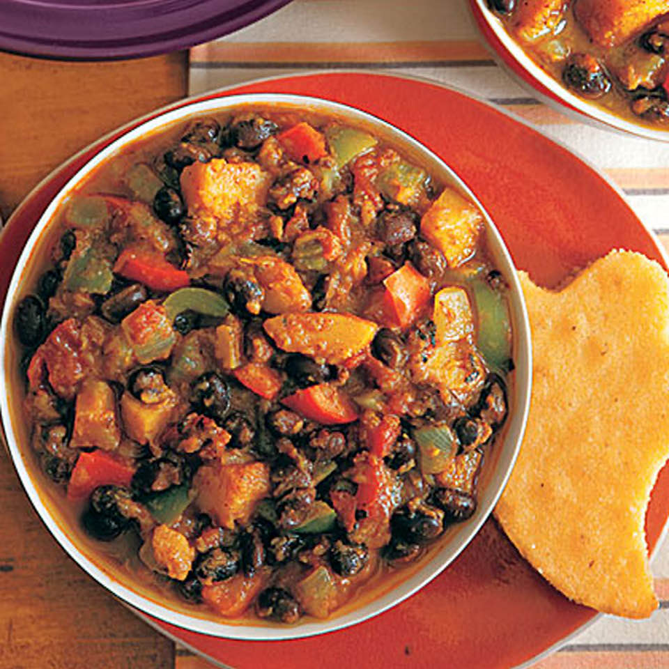 Savory Black Bean And Butternut Squash Chili