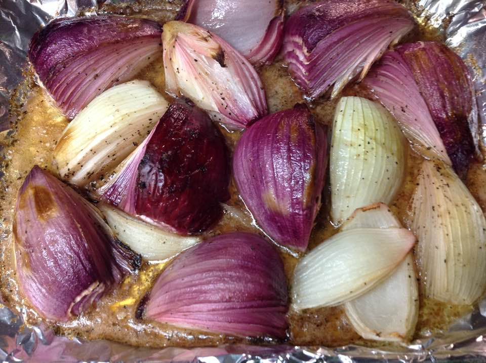 Delicious Lemon Roasted Onions