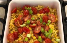 Colorful Tex-Mex Veggie Casserole