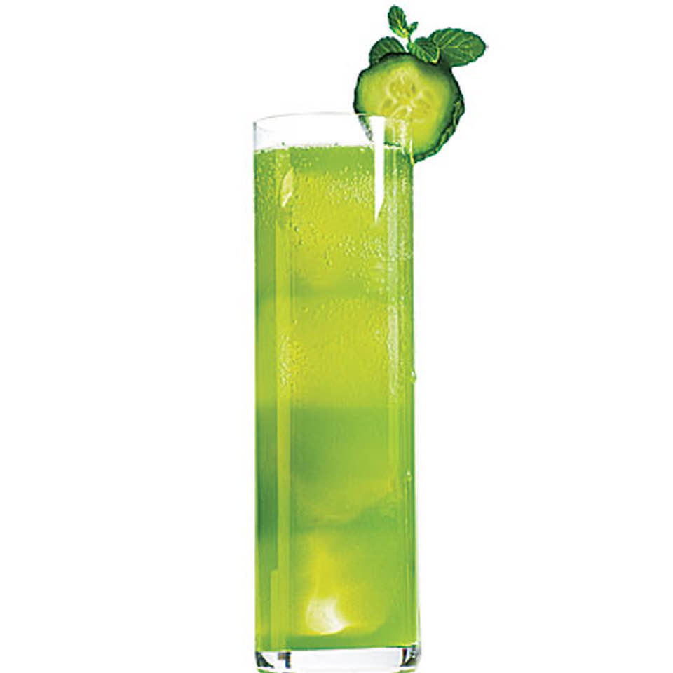 Cooling Cucumber-Lime Tequila Tonic