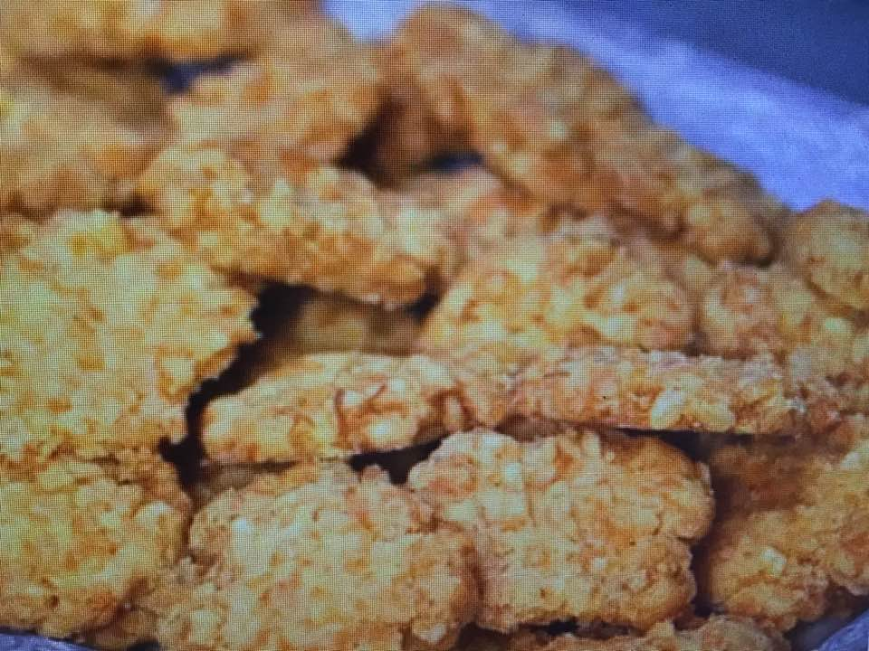 Crunchy Cheese Wafers