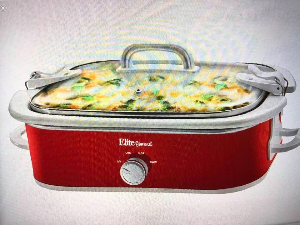 Ginny's 3.5 Quart Casserole Slow Cooker!