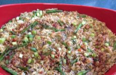 Fresh Asparagus And Crawfish Orzo Pasta Casserole