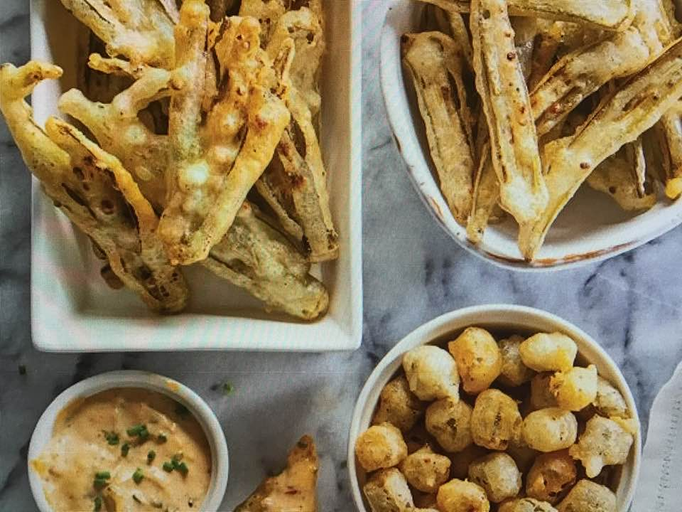 Crispy Fried Pickled Okra