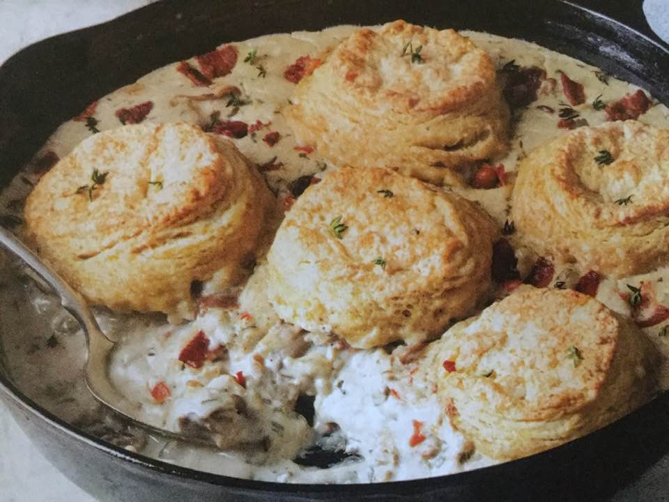 Show-Stopping Oyster Pot Pie