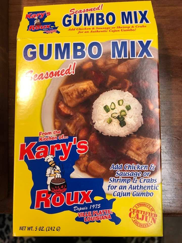 Today's Product Is Kary's Gumbo Mix!