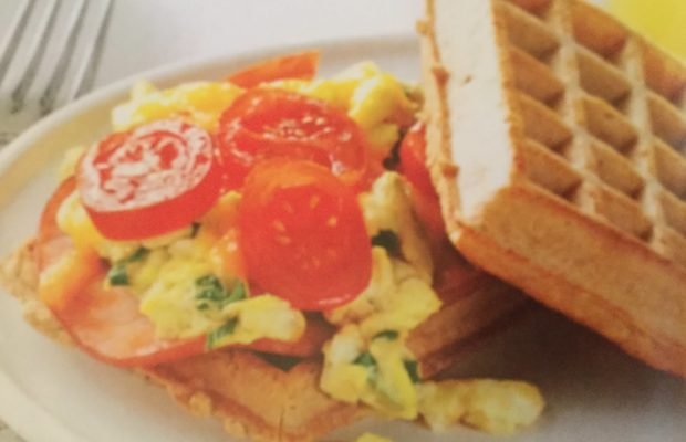 BREAKFAST OR LUNCH WAFFLE SANDWICHES