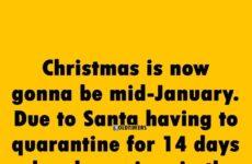 Santa-has-to-Quarantine