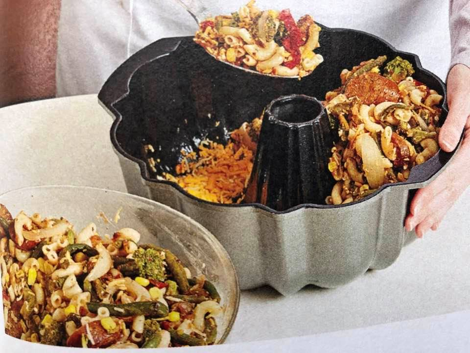 Today's Tip Is Use Bundt Pans For Casseroles!