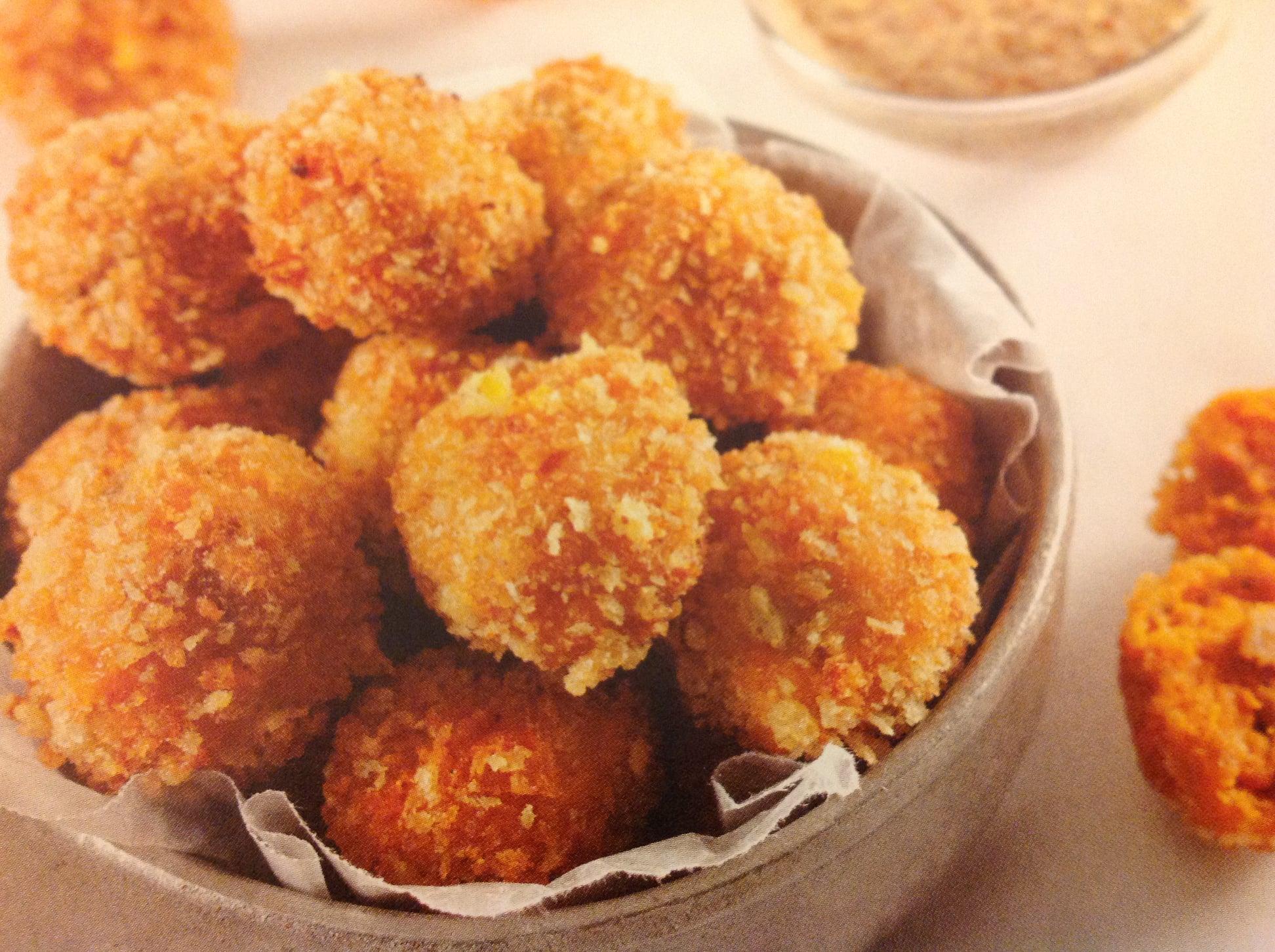 Cajun Yam Fritters