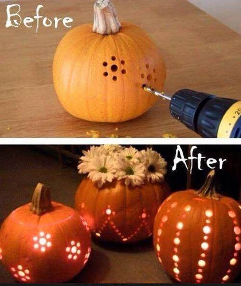 Halloween Lighted Pumpkins