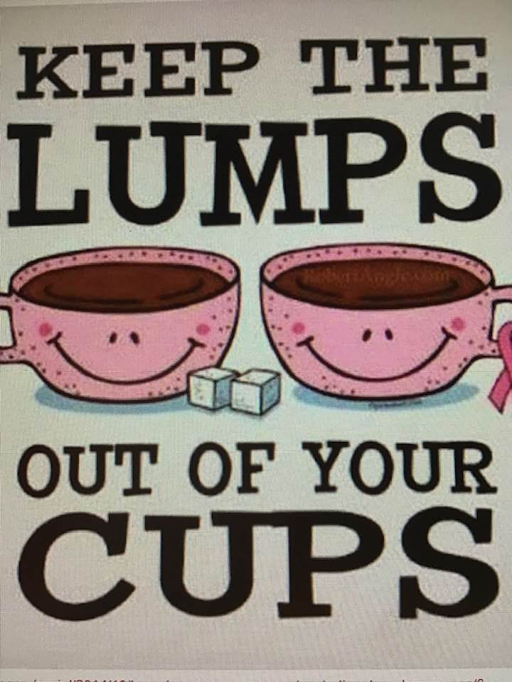 Keep The Lumps Out Of Your Cups!