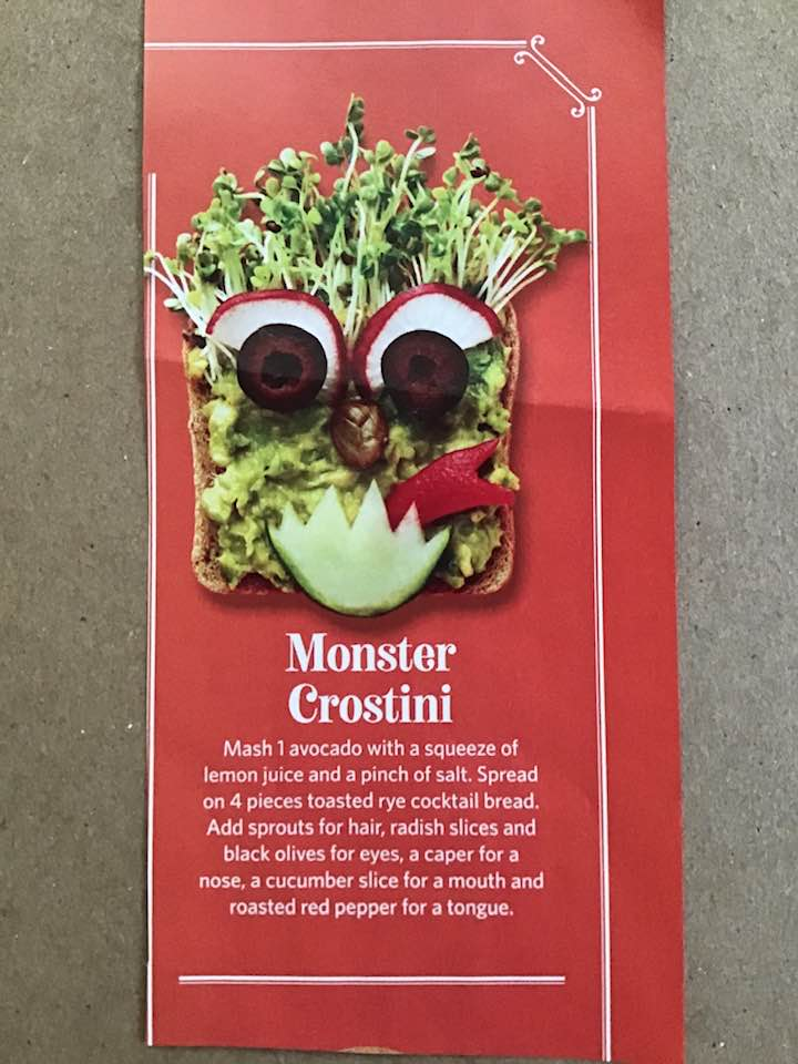 Monster Crostini