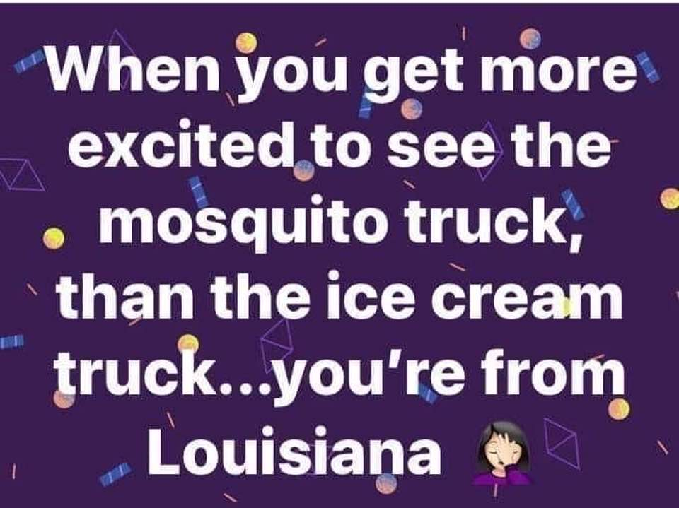 You Know You Are From Louisiana If.....