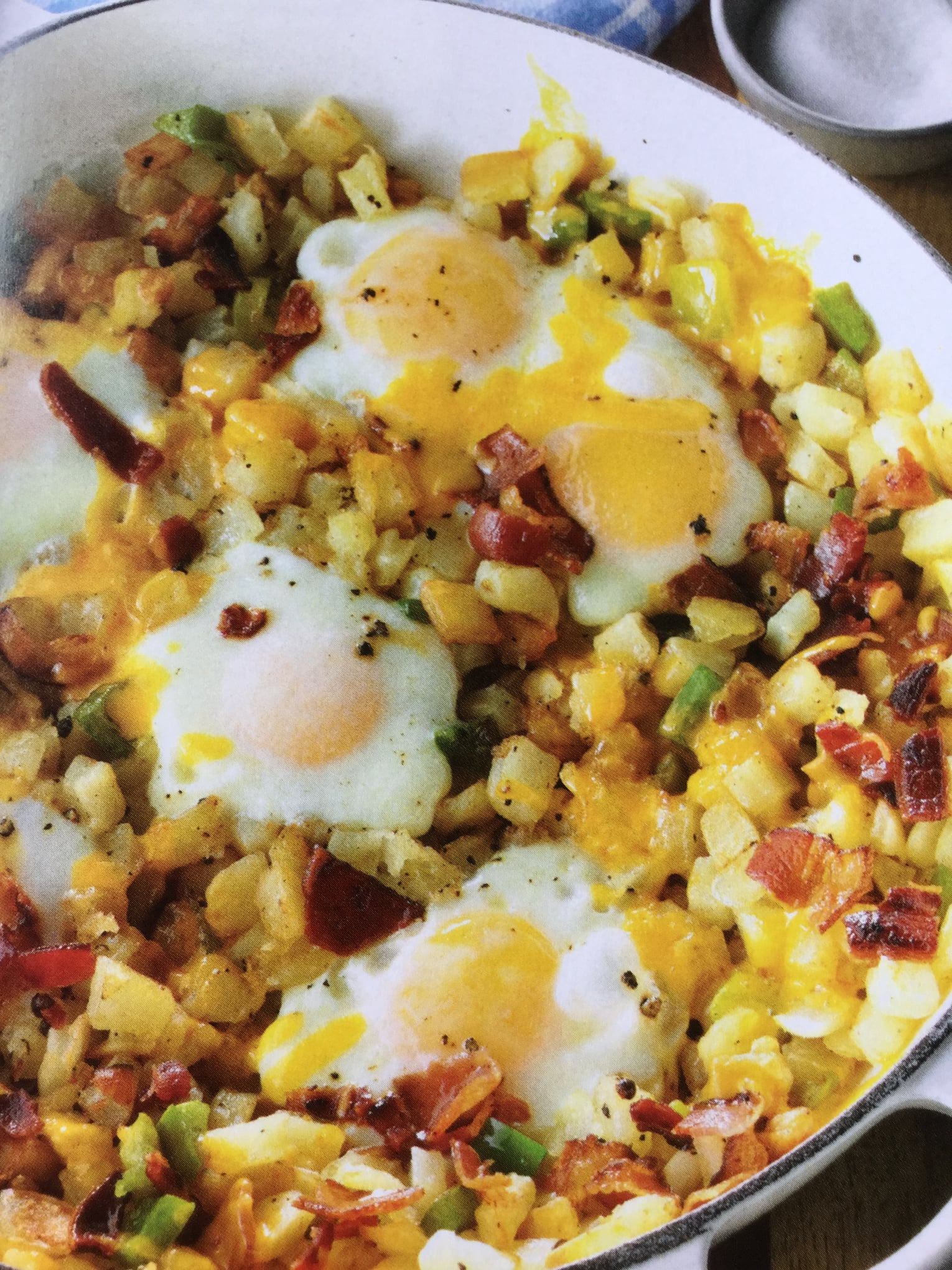 Appealing Brunch In A Skillet