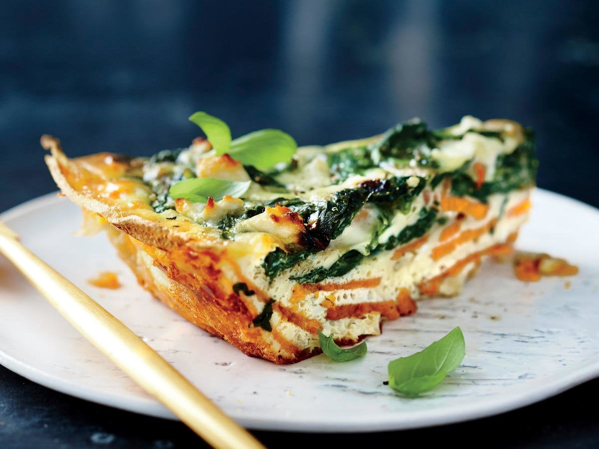 Marvelous Spinach And Feta Quiche With A Yammy Crust