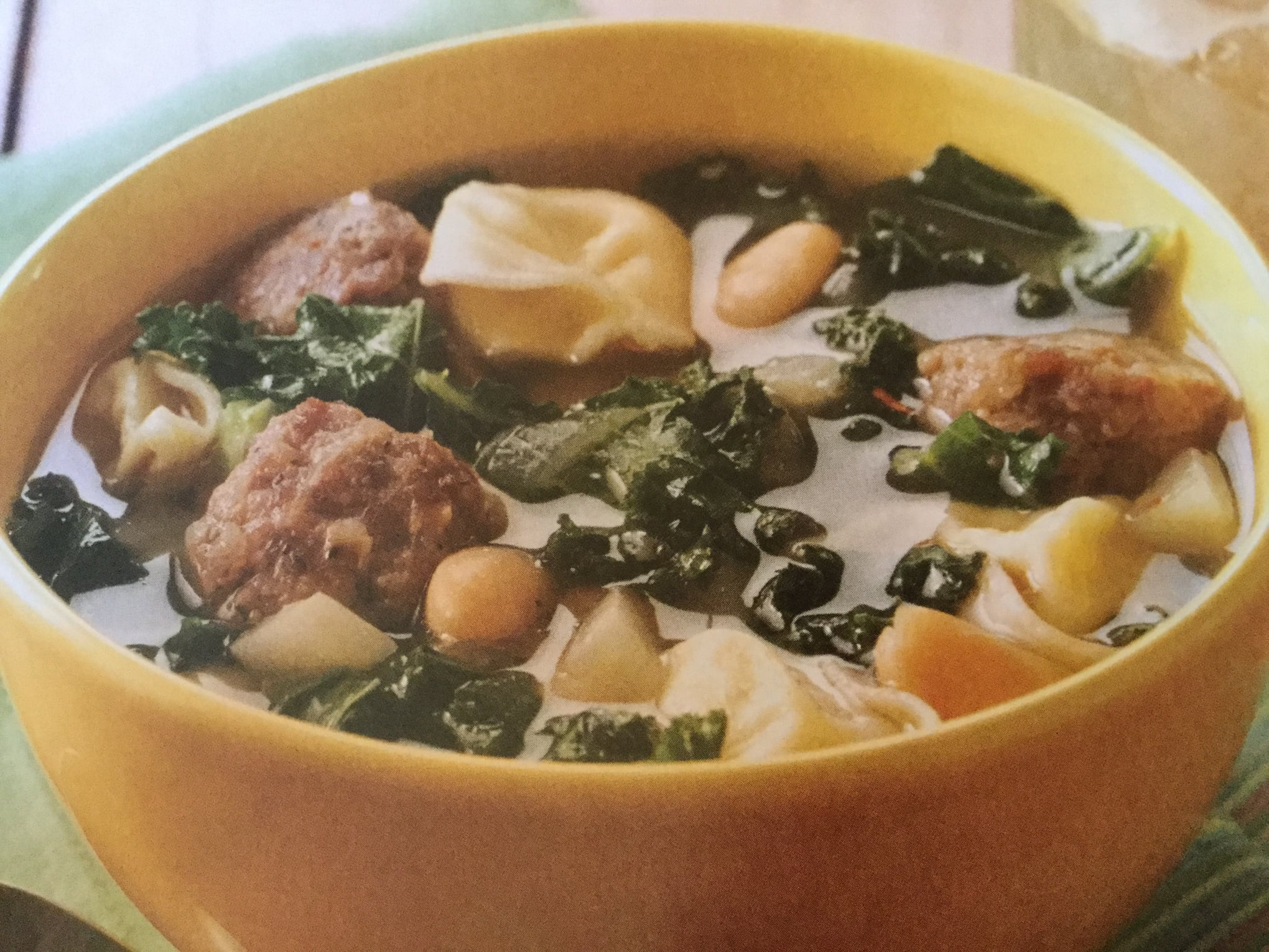 Unique Cheese Tortellini And Kale Soup