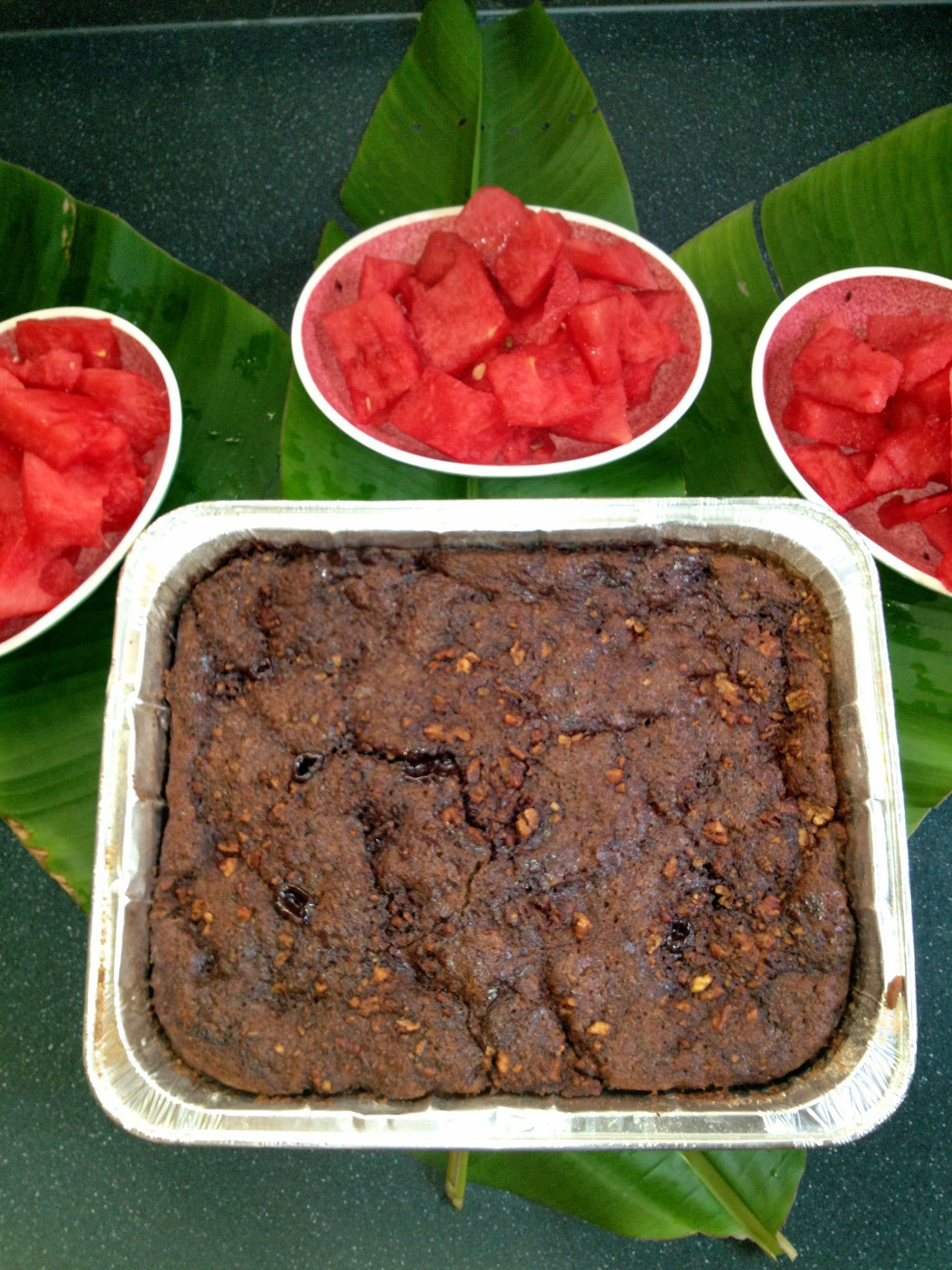 Alice's Chocolate Cake Pudding