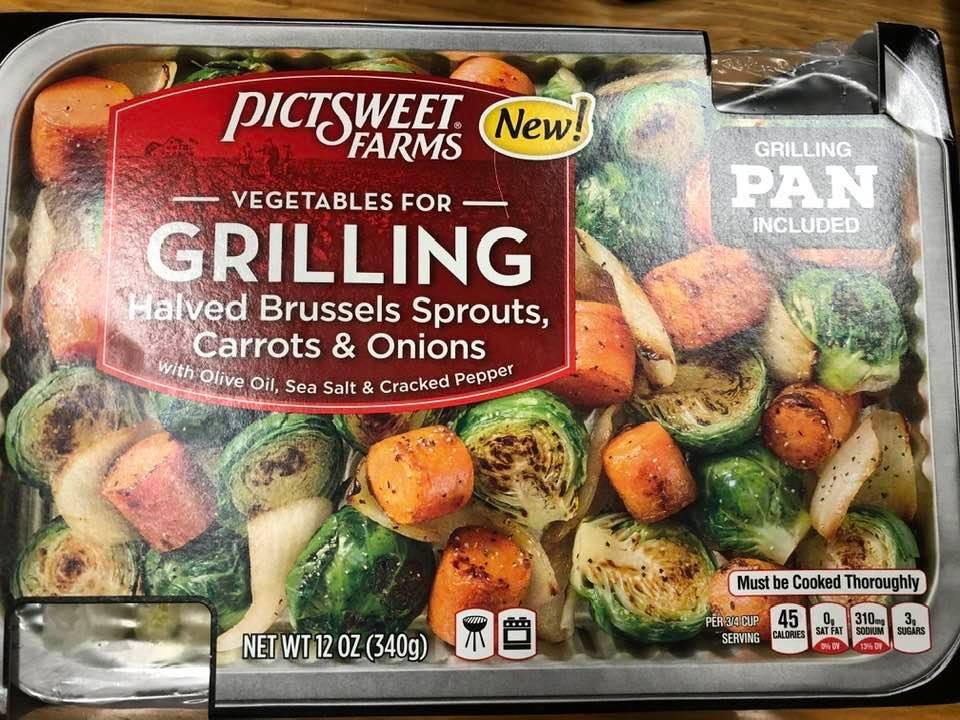 Grilled Pan Of Veggies!