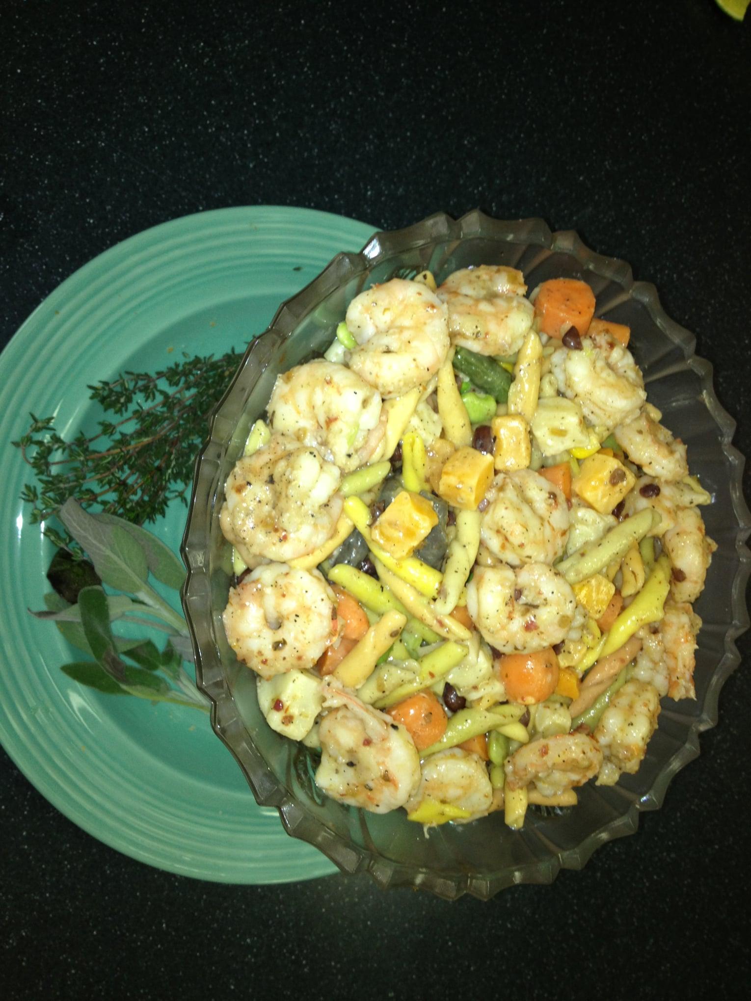 Ms. Alice's Shrimp And Veggie Salad