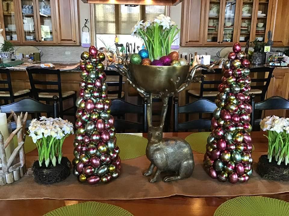 Indoor Easter Decor