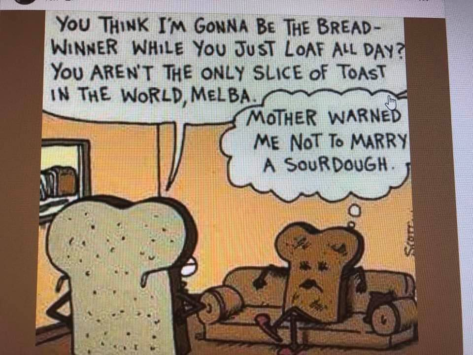 Toast Vs. Sour Dough