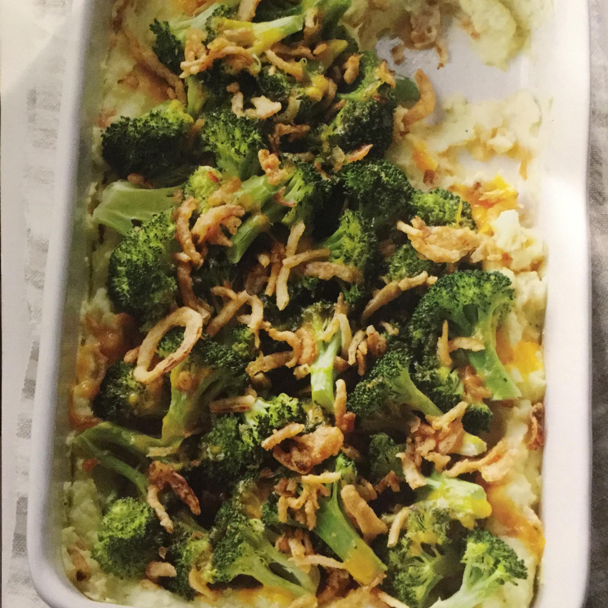 Special Broccoli-Potato Supreme Casserole
