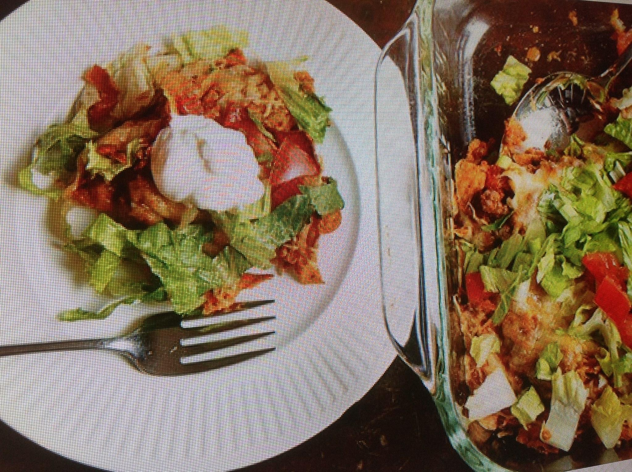 Crunchy-Crispy Taco Casserole