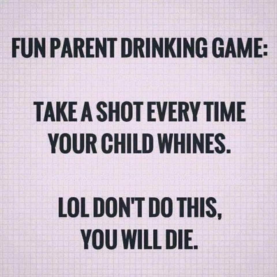 Fun Parent Drinking Game:
