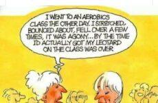 I Went To An Aerobics Class...