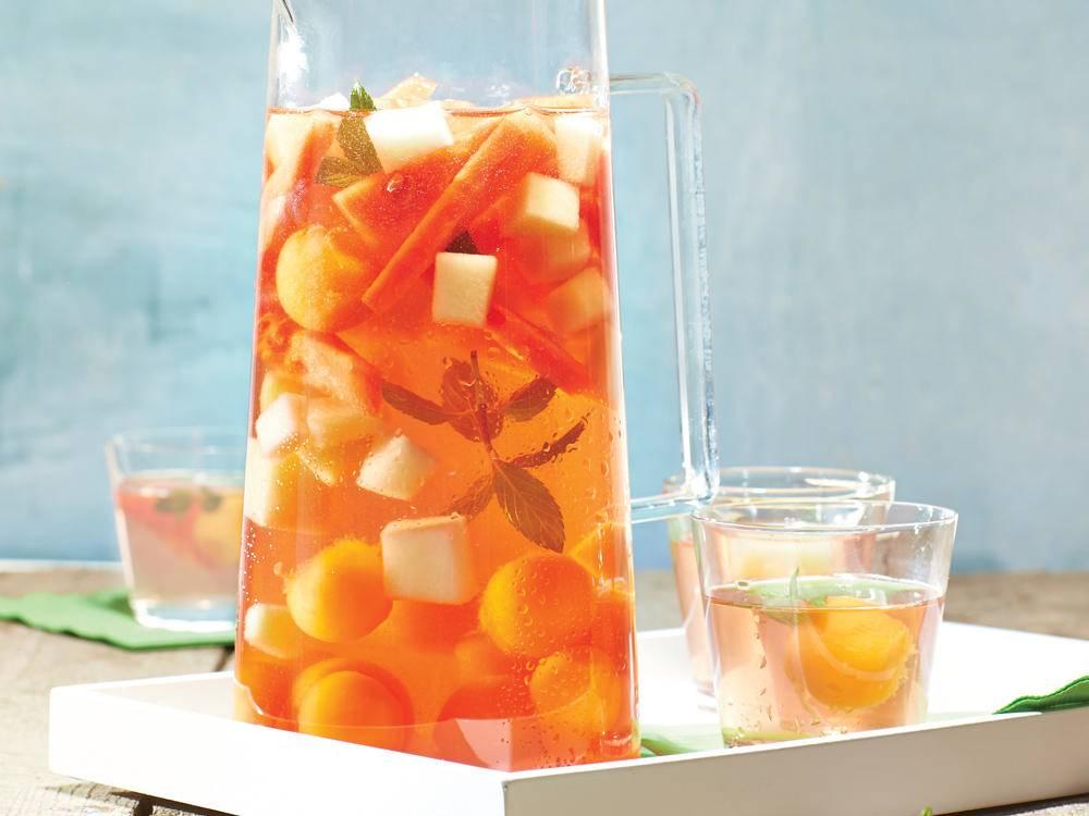 Summery Melon Sangria