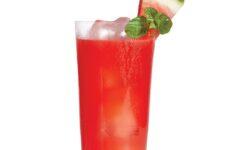 Twisty Watermelon-Minty Margaritas