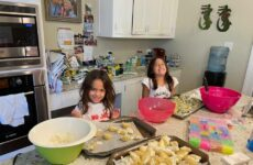 So Proud Of Grand Peeps Gabrielle And Sophia Helping Their Mom Stuff Pasta Shells. Great Job! Maybe They Can Come Help Me !