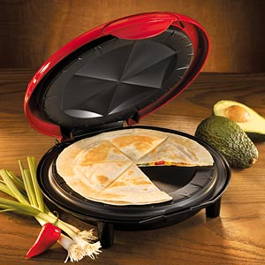 QUESADILLA MAKER And The Second, TACO LAZY SUSAN.