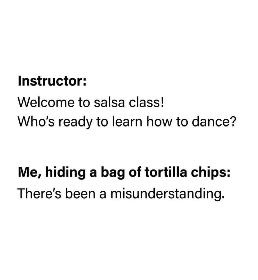 Welcome To Salsa Class!
