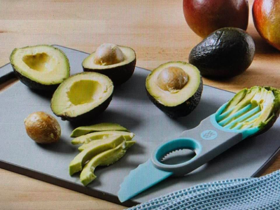 Today's Gadget Is The Flexible Avocado Slicer!
