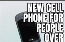 New Cell Phone...