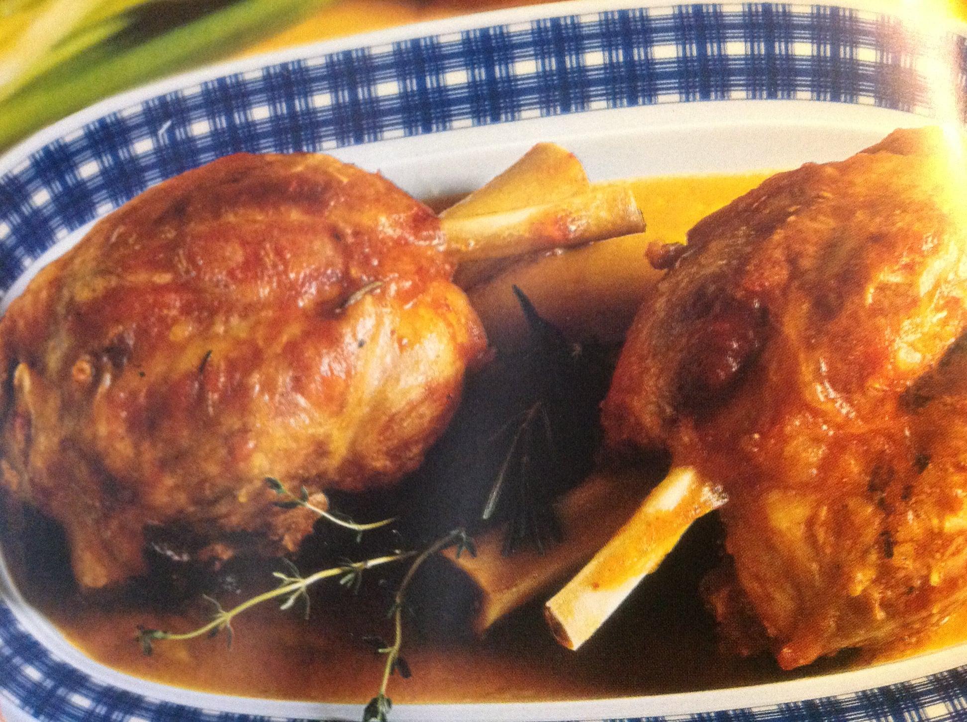 Roasted Pork Shanks